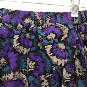 Madewell Skirts - NWT Madewell Eliot Floral Silk Mini Skirt Pockets